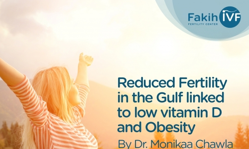 Reduced Fertility in the Gulf linked to low vitamin D and Obesity