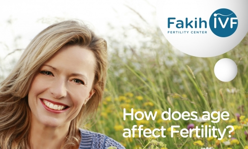 How does age affect fertility?