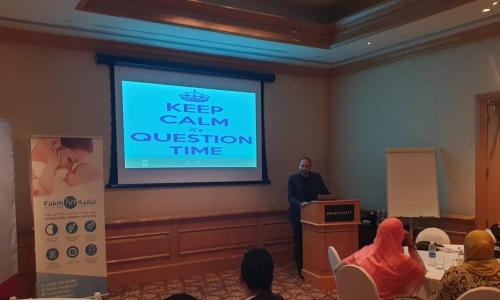 """مركز فقيه للإخصاب عُمان ينظم جلسة بعنوان """"بطانة الرحم/ الأورام الليفية دلائل لعلاج حالة العقم"""""""