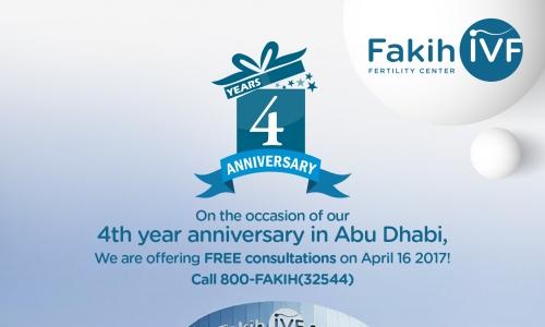 Book Free IVF Consultation- Abu Dhabi, 16 April, 2017