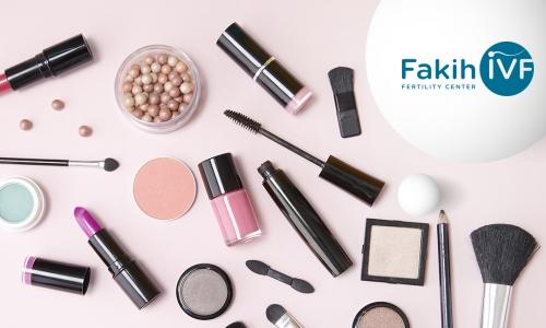 المواد الكيميائية في مستحضرات التجميل قد تسبب العقم